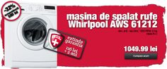 Rombiz - de 25 de ani alaturi de tine Washing Machine, Home Appliances, House Appliances, Appliances