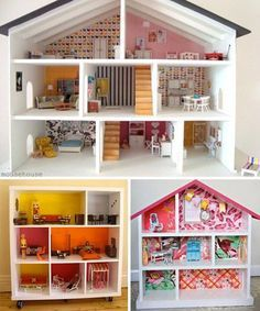 DIY Dollhouse: Because I refuse to buy one...The trick, ladies, is to guilt the dudes into doing it 'out of love' and to make them see reason through 'thriftiness.'
