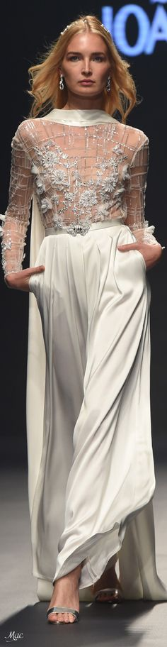 Spring 2018 RTW Joao Rolo Special Dresses, Nice Dresses, Beautiful Gowns, Beautiful Outfits, Gala Dresses, Couture Details, Designer Gowns, Couture Collection, White Fashion