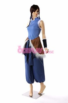 Avatar: The Legend of Korra-- Korra Cosplay Costume Version 01