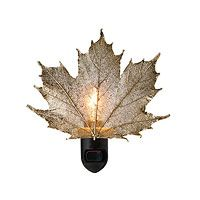 REAL SUGAR MAPLE LEAF NIGHT LIGHT|UncommonGoods