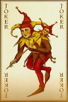 Heath Ledger's Joker Card from The Dark Night (2008)