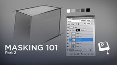 """Masking 101 pt.2 - The introduction to masking continues in this video with layer sets. Did you know you could apply a single mask to multiple layers? Get ready to have your mind blown. This is where masking severs ties with the traditional art world, and can only be called """"strictly digital"""". Even though it might seem abstract at first, this concept will completely change the way you paint. ★ 