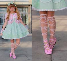 Baby The Stars Shine Bright Socks, Angelic Pretty  Dress, Angelic Pretty  Bolero