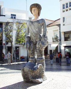 Dom Sebastião sculpture by João Cutileiro. Lagos, Portugal.