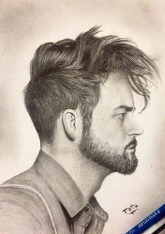 Drawing hair style