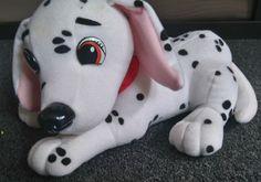Disney 101 Dalmatians Dog Perdy soft cuddly plush toy 10 x6  *
