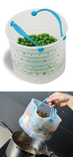 Cook + drain bag - s
