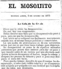 Periódico argentino 'El Mosquito'