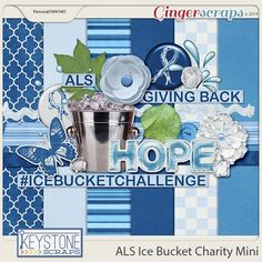 Keystone Scraps from the GingerScraps Forum has created a mini-kit for the ALS Ice Bucket Challenge.   She will donate $1 for every page submitted in the thread for the September Mini Kit challenge PLUS donate ALL proceeds of this Mini Kit, available for $2, for anyone that would rather not do the challenge. So if you like Challenges or just want to pitch in for a great cause, come check it out; http://forums.gingerscraps.net/showthread.php?26809-Mini-Kit-Challenge-September-2014. 09/12/2014