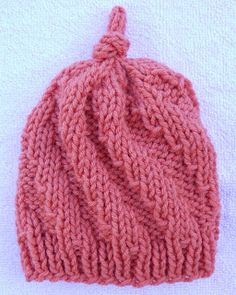 128277a9569 Come On Baby Let s Do The Twist Cap By Suzetta - Free Knitted Pattern - (