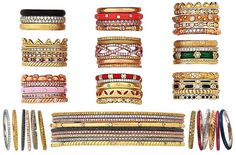 Hidalgo stackable rings and bracelets