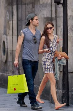 Paul Wesley and Nina Dobrev <3 - nina-dobrev Photo
