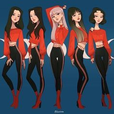 The Scarlet Ladies A coven of witches that practice all kinds of magic. Eve, Ava, Libby, Charlotte, and Verity