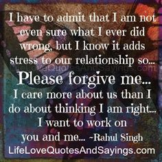 Forgive Me Quotes Amusing Forgiveness Quotes And Sayings  Please Forgive Me Love Quotes