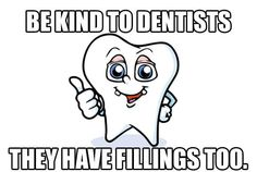 Don't hurt our fillings! Dr. Drew Byrnes Family and Cosmetic Dentistry  www.dentistwinterpark.com