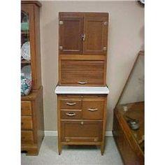 Hoosier cabinet apartment size | Hoosier Style Kitchen Baking Cabinet I XL #1916440