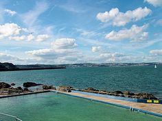 Brixham, Shoalstone Pool - I learned to swim in this sea-water pool Beautiful Places To Live, South Devon, Learn To Swim, Sunny Days, Childhood Memories, Attraction, Families, Places To Go, Nostalgia