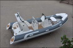 SeaFoam 17' Luxury RIB Boat w/ YAMAHA 115hp (Model SEA520A)
