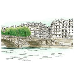 Paris Sketches ❤ liked on Polyvore featuring backgrounds, paris, fillers, sketches and drawings