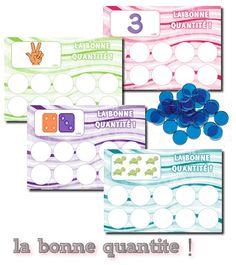 La maternelle de Laurène: La bonne quantité !                                                                                                                                                                                 Plus