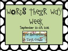 48 Best Words Their Way Images Classroom Second Grade Sight Words