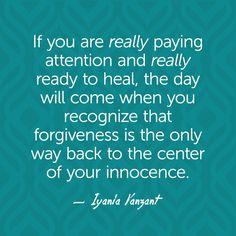Iyanla Vanzant Quotes - Forgiveness