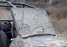 Super ATV Polaris RZR 170 Scratch Resistant Full Windshield | Jet.com