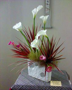 Ikebana Flower Arrangement Using Cymbidium | Recent Photos The Commons Getty Collection Galleries World Map App ...