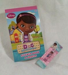 Doc Mcstuffins Gift Set! Stickers and chapstick combo! Easter basket stuffer!