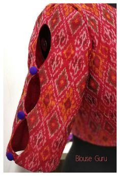 Salwar Neck Designs, Kurta Neck Design, Saree Blouse Designs, Bridal Blouse Designs, Kurti Sleeves Design, Sleeves Designs For Dresses, Sleeve Designs, Simple Blouse Designs, Stylish Blouse Design