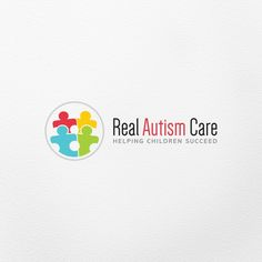 Real Autism Care �20Create a modern playful logo for autism therapy services