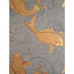 BuyOsborne & Little Derwent Wallpaper, Charcoal, W5796-01 Online at johnlewis.com