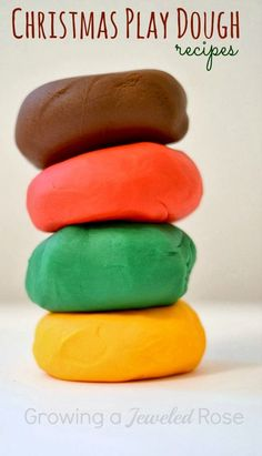 NO COOK CHRISTMAS PLAY DOUGH RECIPES
