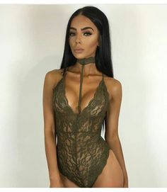 b67655ac74 Whatiwear 2017 Sexy Perspective Bodysuit Women Jumpers Rompers Sexy Club  Bodysuits Halter Scoop Back Sleeveless Cami Bodysuit