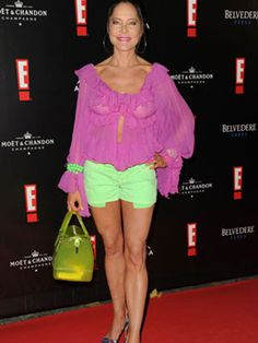 Actress Doreen Dietel is about 50 years too old for this kind of outfit. caff0f026