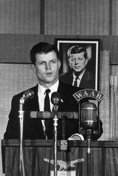 Ted (edward) Kennedy , circa 1965