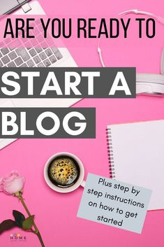 Thinking about starting a blog? How do you know if you're ready to start a blog and what do you need to do to get started. Make Money Blogging, How To Make Money, How To Become, How To Get, Ready To Start, Work From Home Business, Blogging For Beginners, Words Of Encouragement, Mom Blogs