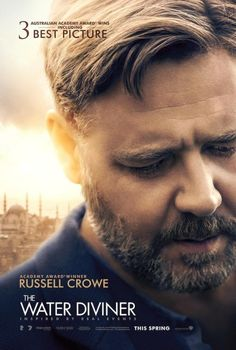 The Water Diviner an amazing film starring Russell Crowe. Part War story with a back side love story. Absolutely loved it! Glad we saw it early. :)  Opens April 23rd.