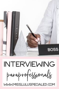 Are you involved in hiring paraprofessionals for your classroom? Check out these tips and interview questions for special education classroom paras! #teaching #specialeducation #paraprofessional #spedteacher #autismclassroom Classroom Board, Autism Classroom, Special Education Classroom, Classroom Decor, Education City, Education Quotes, Kids Education, Teaching Tips, Teaching Math