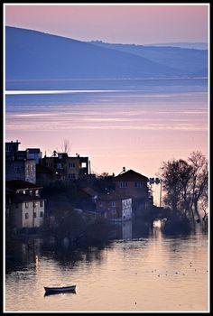 Sunset in Golyazi (2) - Golyazi (Apolyont), Bursa