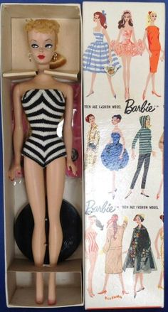 A beautiful No. 1 Barbie from the collection of Gene Foote.
