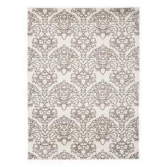 Wayfair $115, 8x10 Three Posts Elegance Damask Area Rug & Reviews | Wayfair