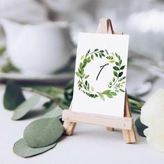 Rustic Wedding Table Numbers Ideas, Green Wedding Decor, Eucalyptus Wedding Table Numbers 1-20, Table Numbers Rustic, Wedding Seating Check out this item in my Etsy shop https://www.etsy.com/ie/listing/586179404/rustic-wedding-table-numbers-ideas-green #weddingdecoration