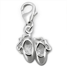 Genuine Sterling Silver Horse Clip On Charm m5IYyC