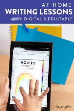Need digital writing activities for first and second grade?! These fun and easy-to-follow writing lessons provide students (and teachers) with 4 weeks worth of lesson plans! Head on over to see what types of writing activities are included!