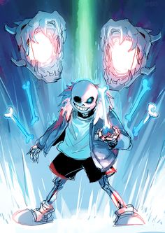 I love these badass pictures of Sans