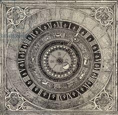 http://www.bridgemanart.com/asset/469523/English-School-19th-century/Astronomical-clock-in-Hampton-Court-Palace
