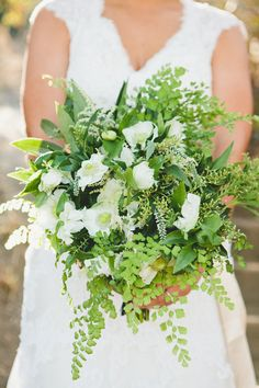 #Bouquet | Botanical-Inspired Wedding at Marvimon | See the wedding on SMP: http://www.StyleMePretty.com/2014/02/28/botanical-inspired-wedding-at-marvimon/ Onelove Photography