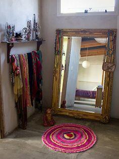 bohemianhomes: Bedroom Mirror